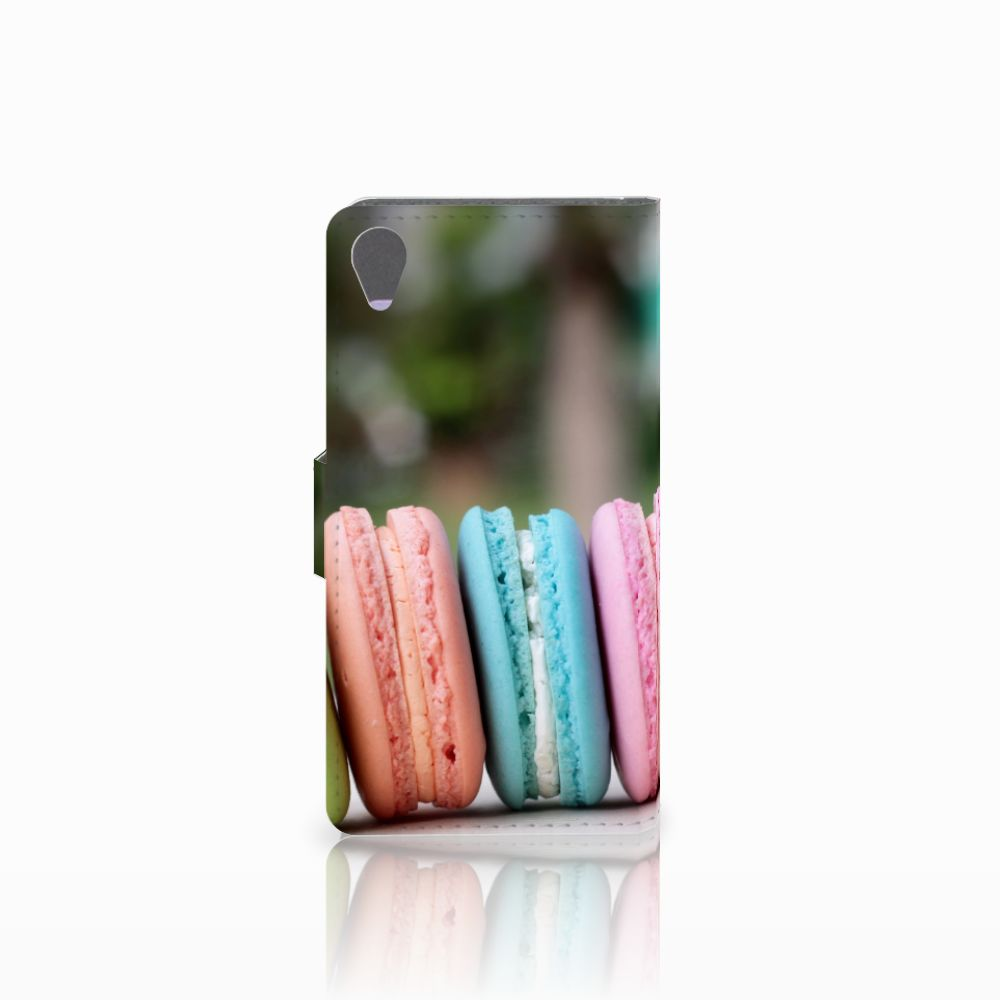 Sony Xperia X Book Cover Macarons