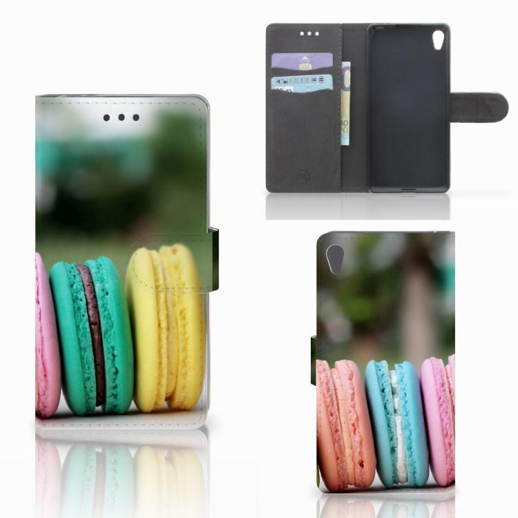 Sony Xperia E5 Book Cover Macarons