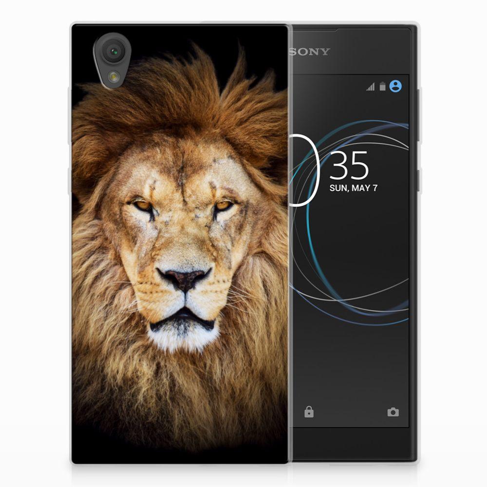 Sony Xperia L1 TPU Hoesje Design Leeuw