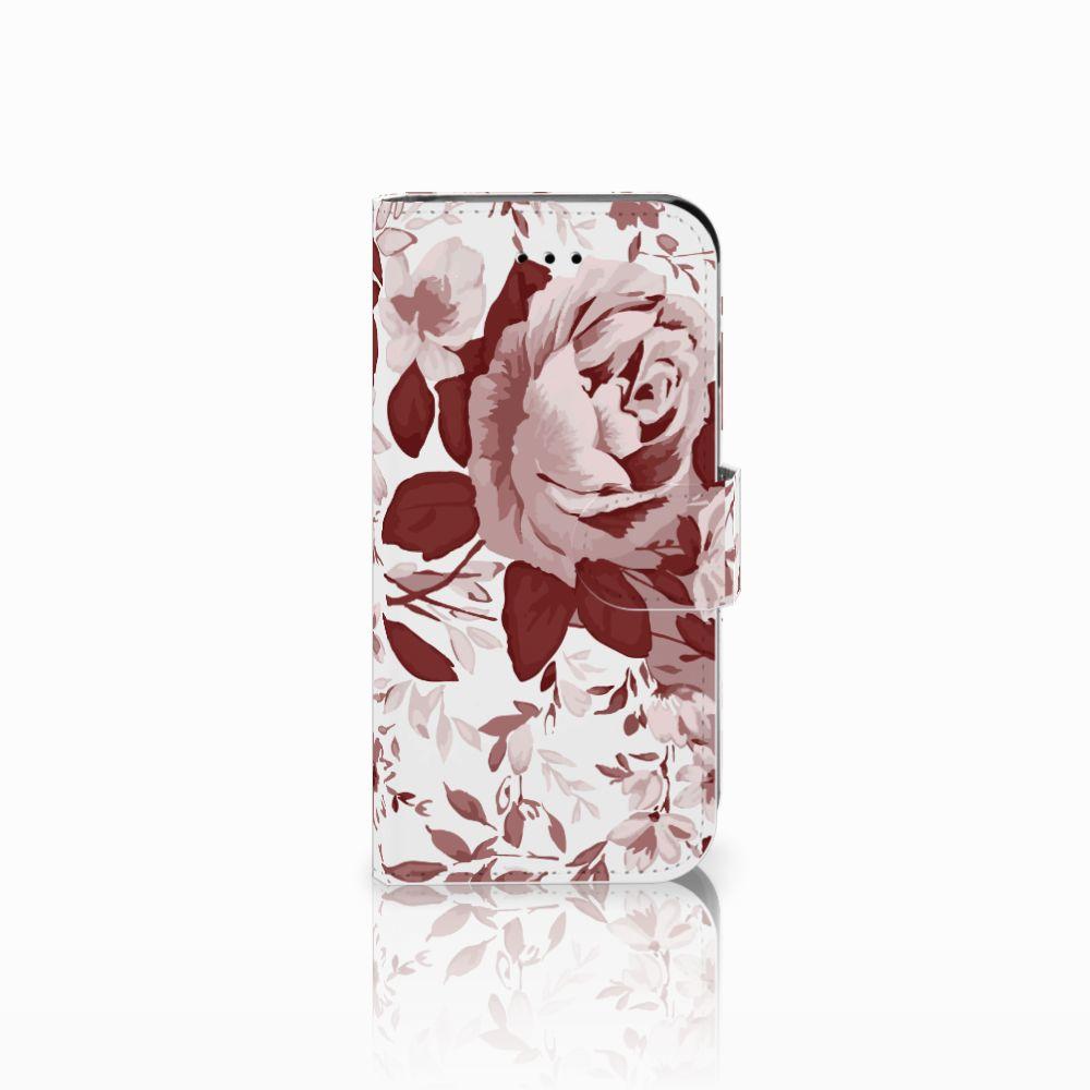 Hoesje Apple iPhone 6   6s Watercolor Flowers