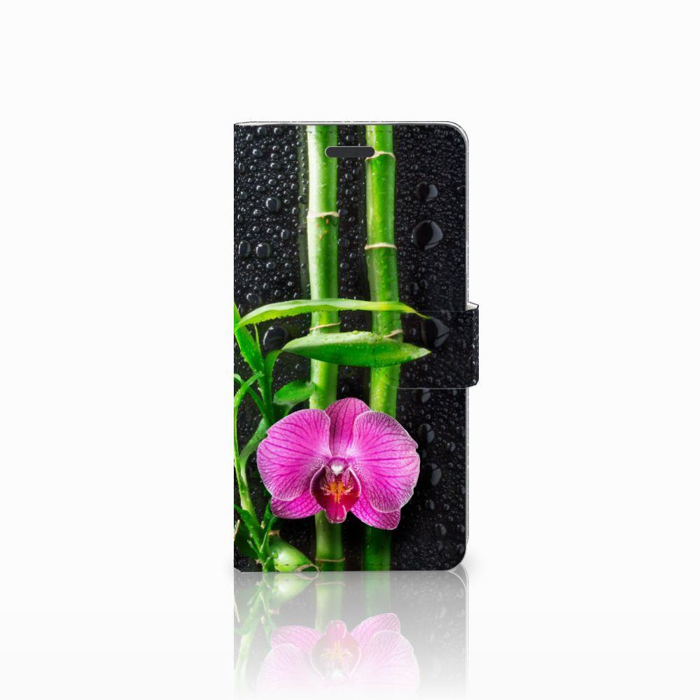 Samsung Galaxy Note 5 Boekhoesje Design Orchidee
