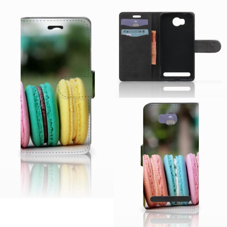 Huawei Y3 2 | Y3 II Book Cover Macarons