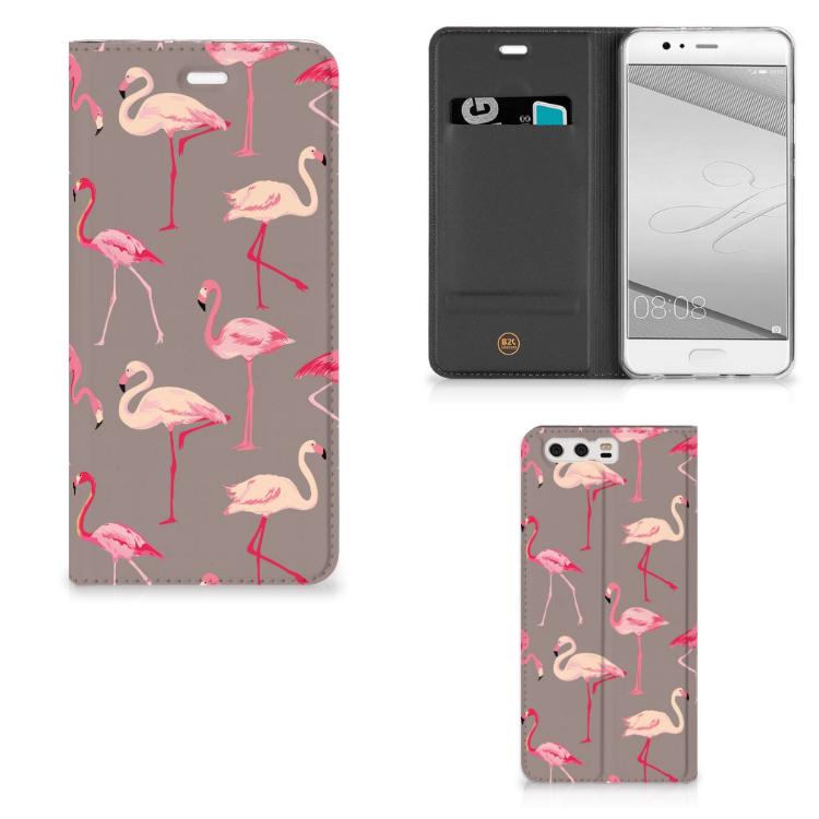 Huawei P10 Plus Hoesje maken Flamingo
