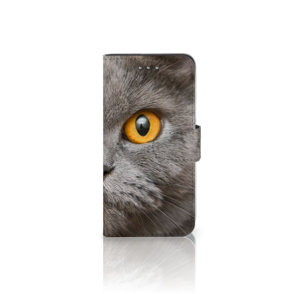 Samsung Galaxy S6   S6 Duos Uniek Boekhoesje Britse Korthaar