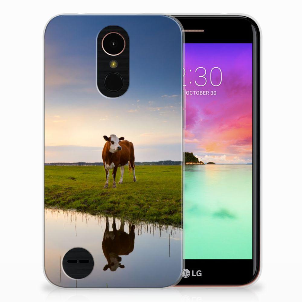 LG K10 2017 TPU Hoesje Design Koe