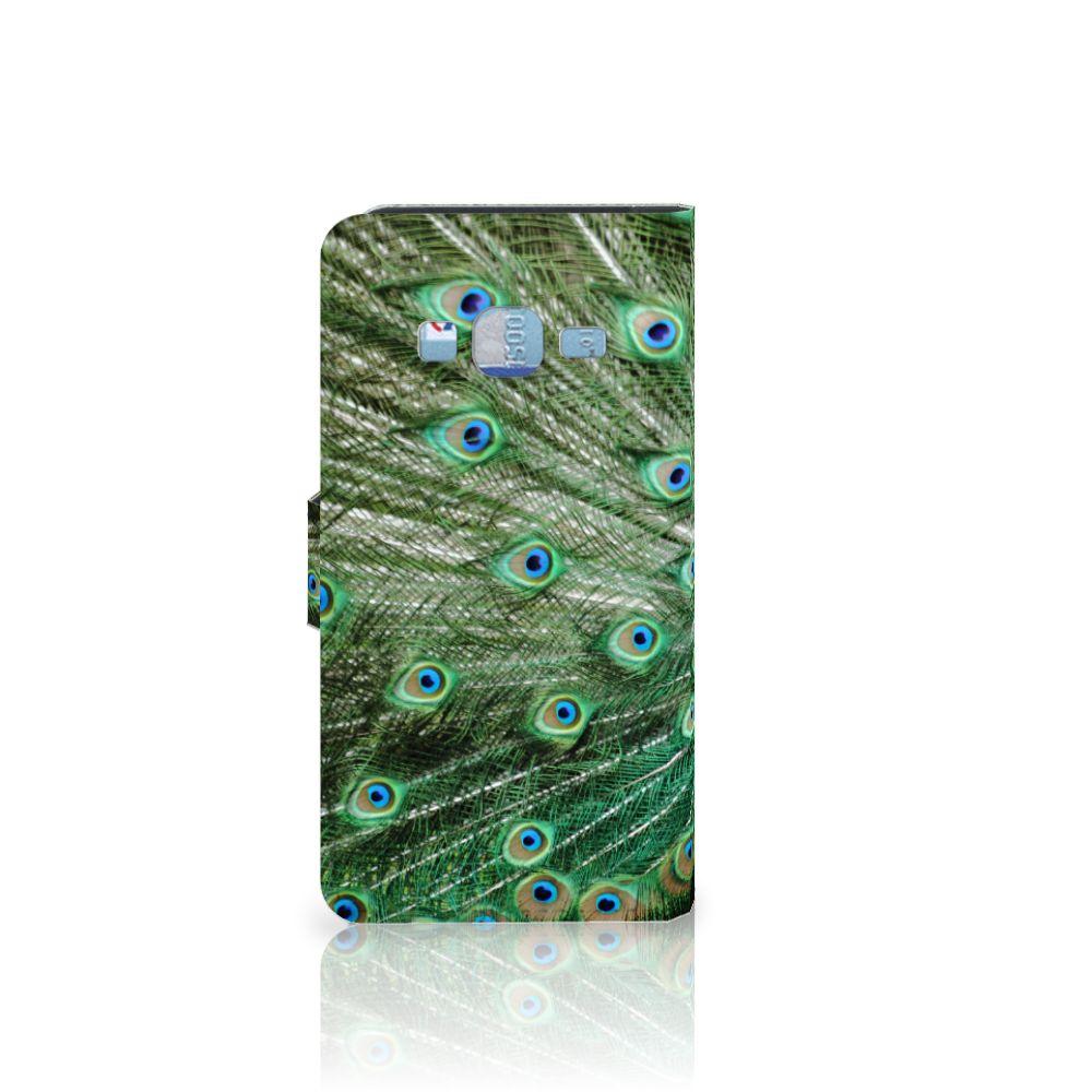 Samsung Galaxy J3 2016 Telefoonhoesje met Pasjes Pauw