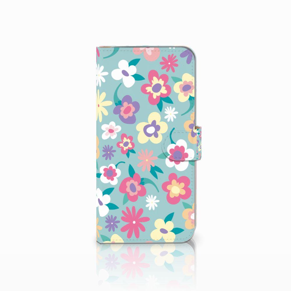 HTC Desire 10 Pro Boekhoesje Design Flower Power