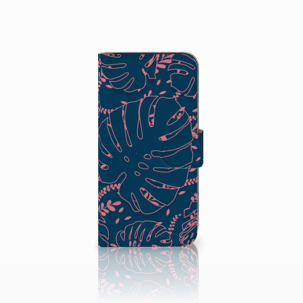 Samsung Galaxy E5 Boekhoesje Design Palm Leaves