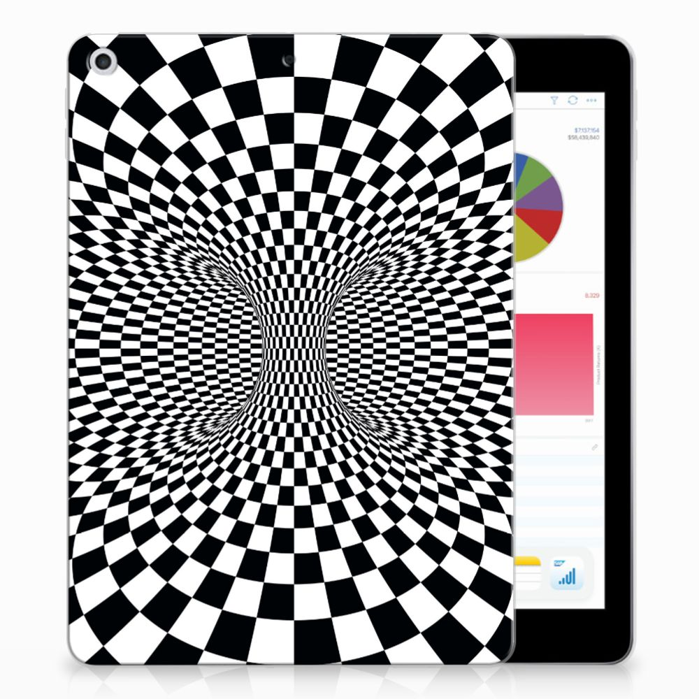 Apple iPad 9.7 2018 | 2017 Back Cover Illusie