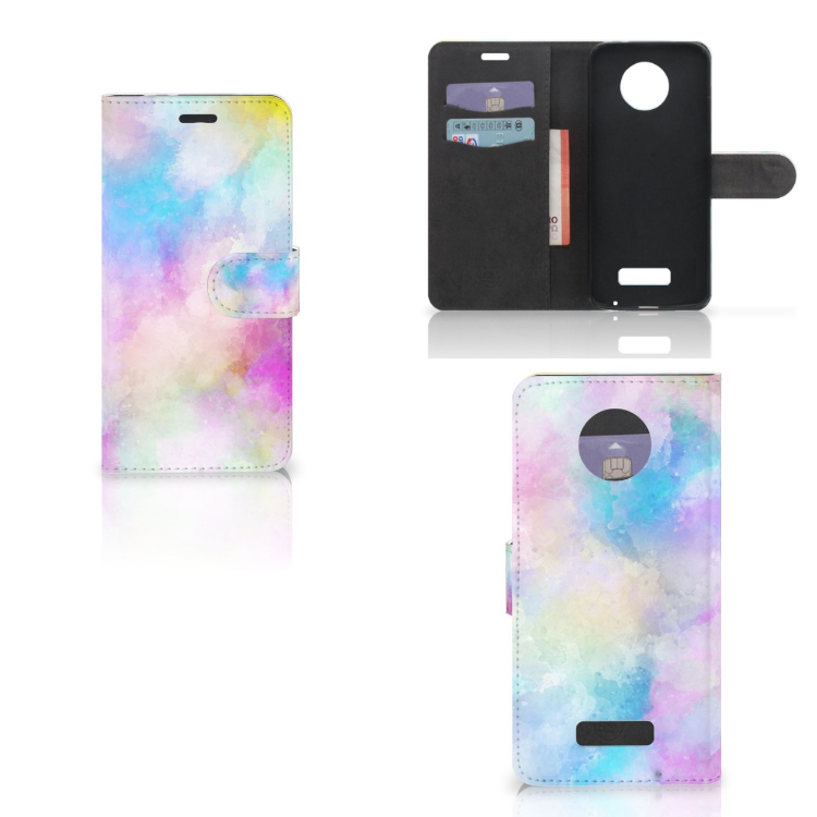Hoesje Motorola Moto Z Watercolor Light