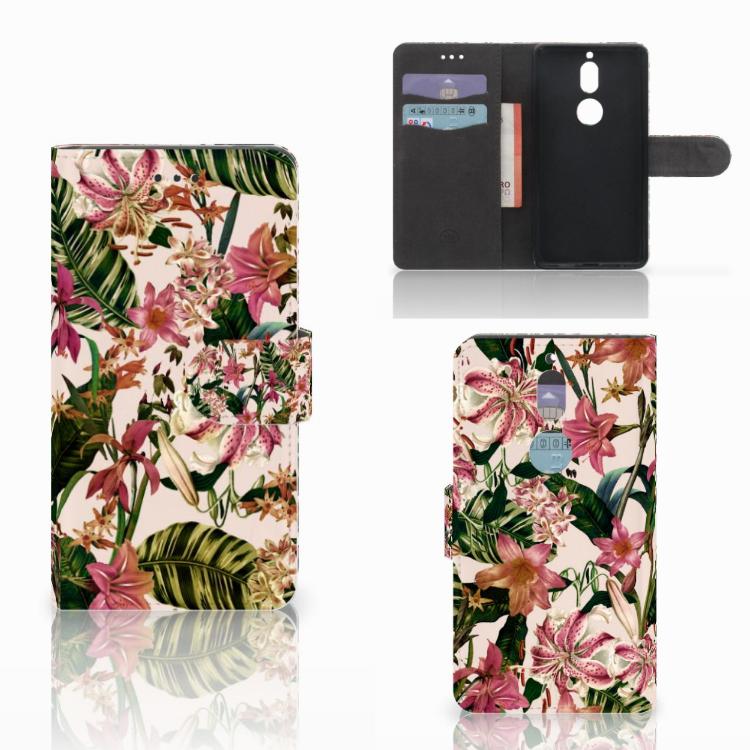 Nokia 7 Hoesje Flowers