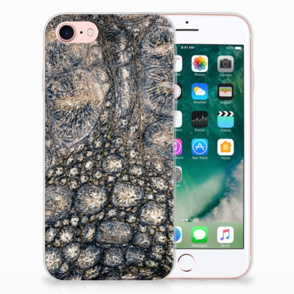 iPhone SE (2020) | 7/8 TPU Hoesje Krokodillenprint