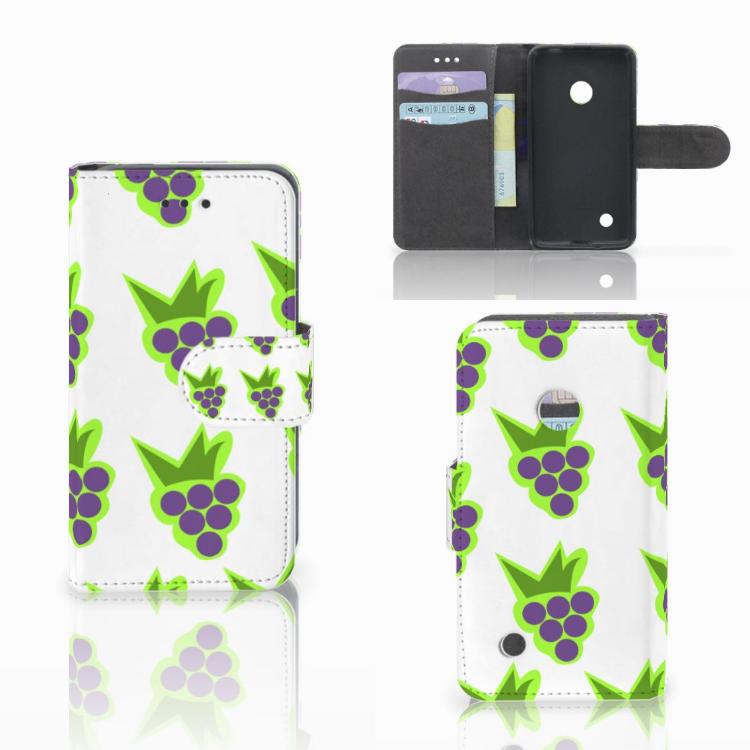 Nokia Lumia 530 Book Cover Druiven