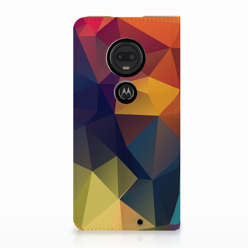 Motorola Moto G7 | G7 Plus Stand Case Polygon Color