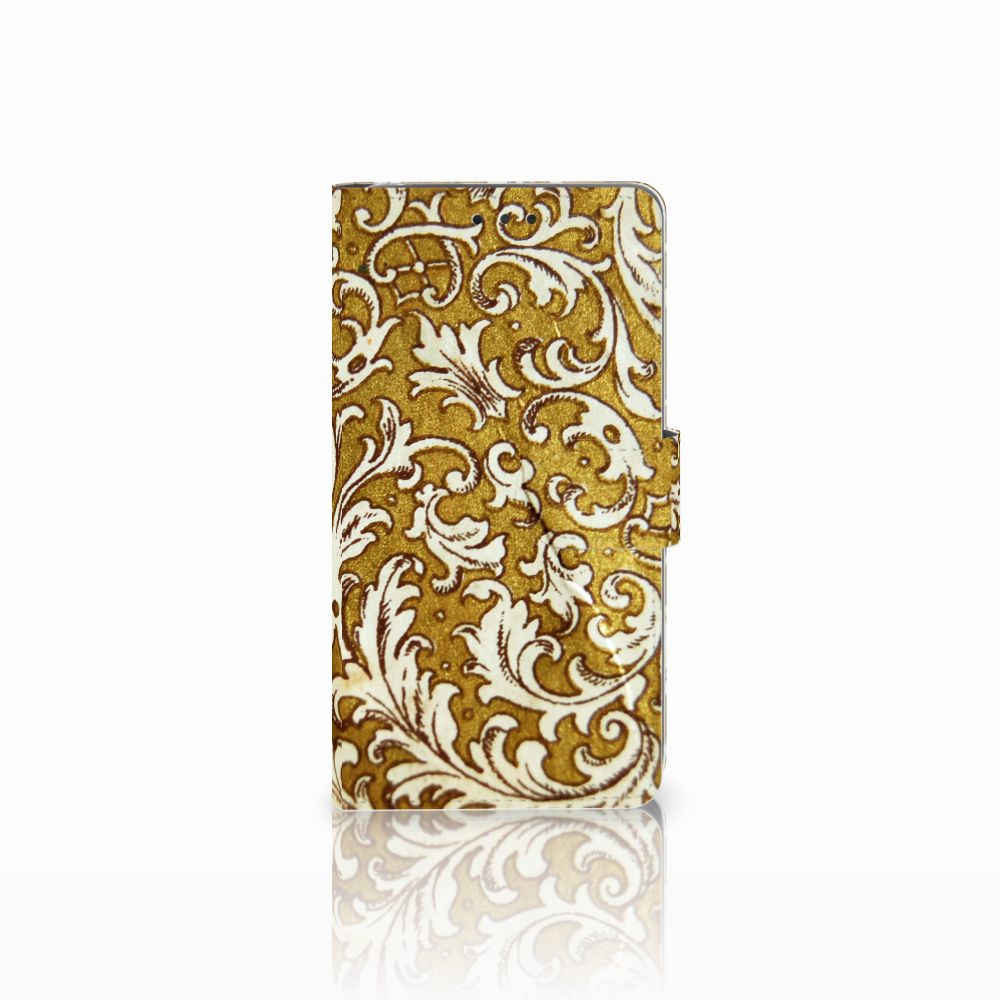 Wallet Case LG G4 Barok Goud