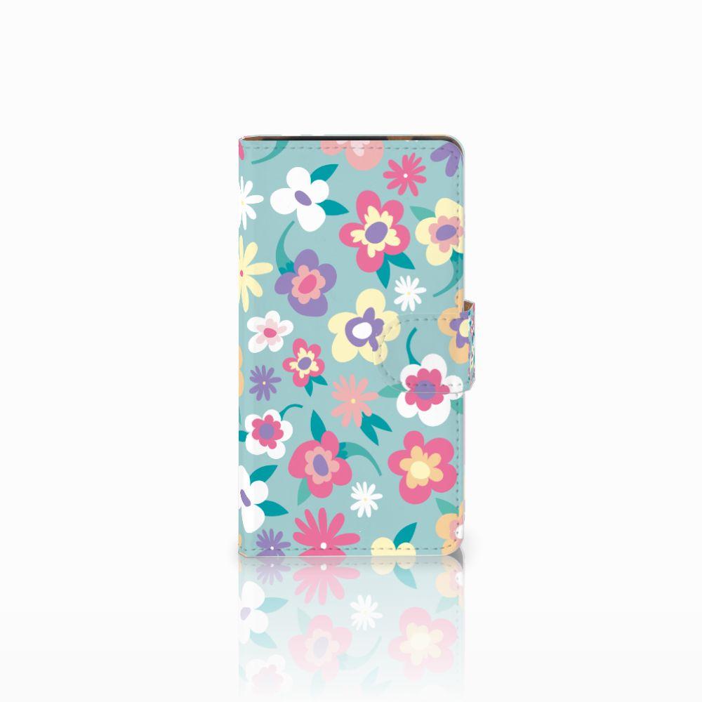 HTC Desire 601 Boekhoesje Design Flower Power