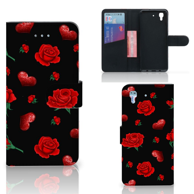 Honor 4A   Y6 Leuk Hoesje Valentine