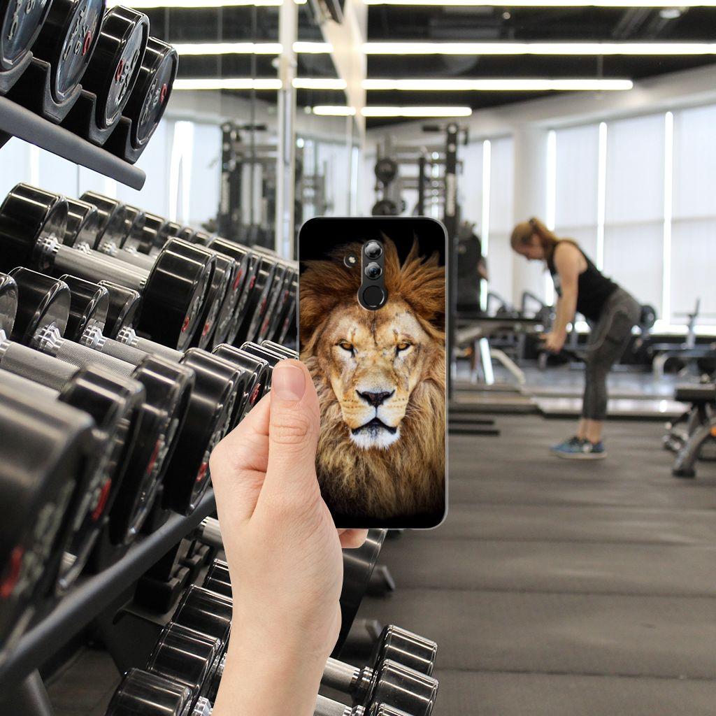 Huawei Mate 20 Lite TPU Hoesje Leeuw