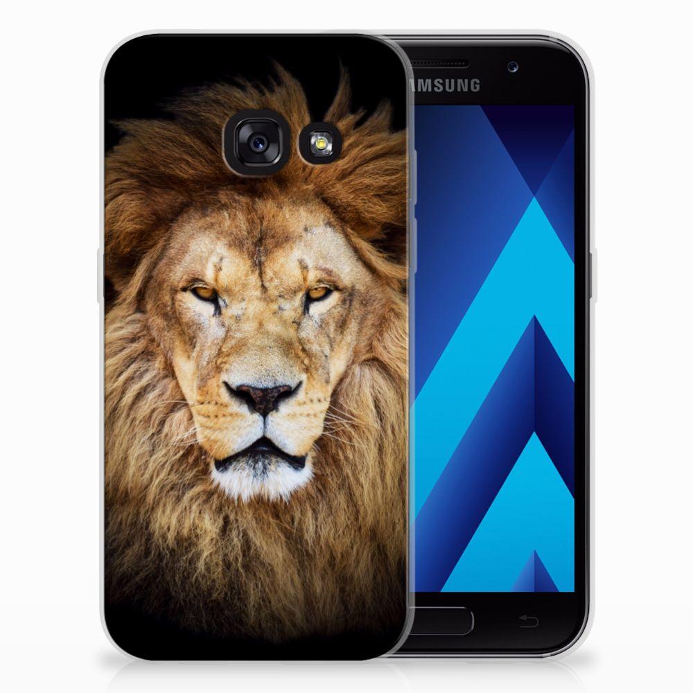Samsung Galaxy A3 2017 TPU Hoesje Leeuw