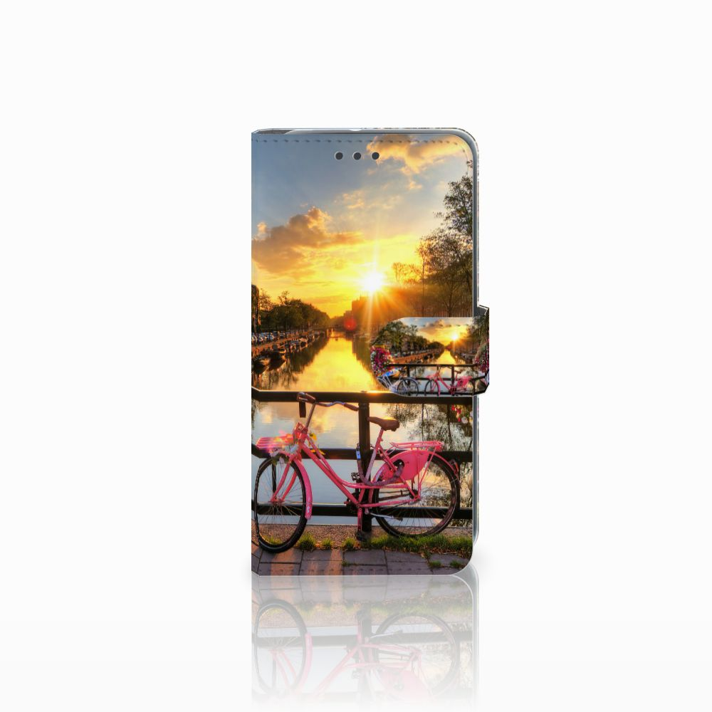 HTC U11 Life Uniek Boekhoesje Amsterdamse Grachten