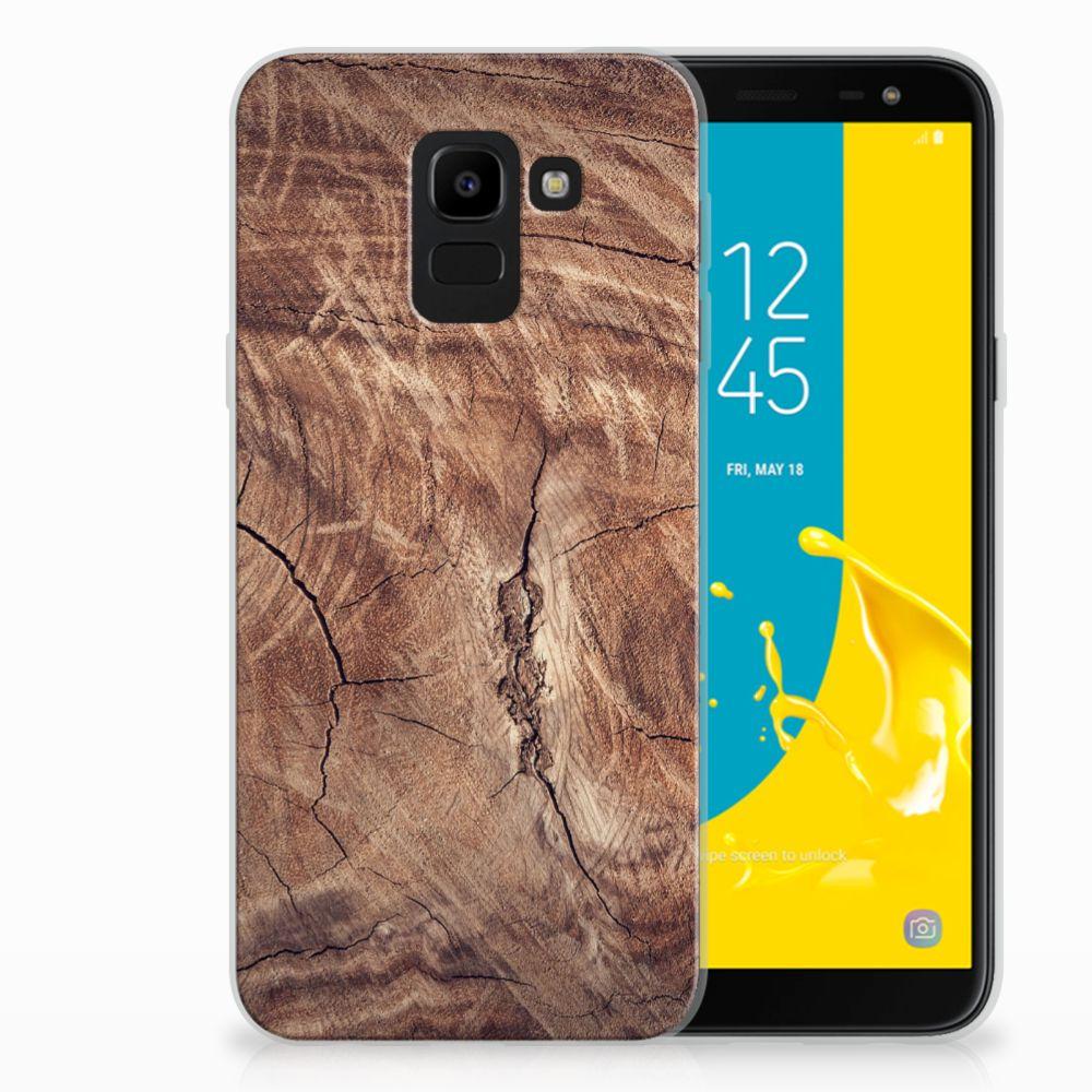 Samsung Galaxy J6 2018 TPU Hoesje Design Tree Trunk