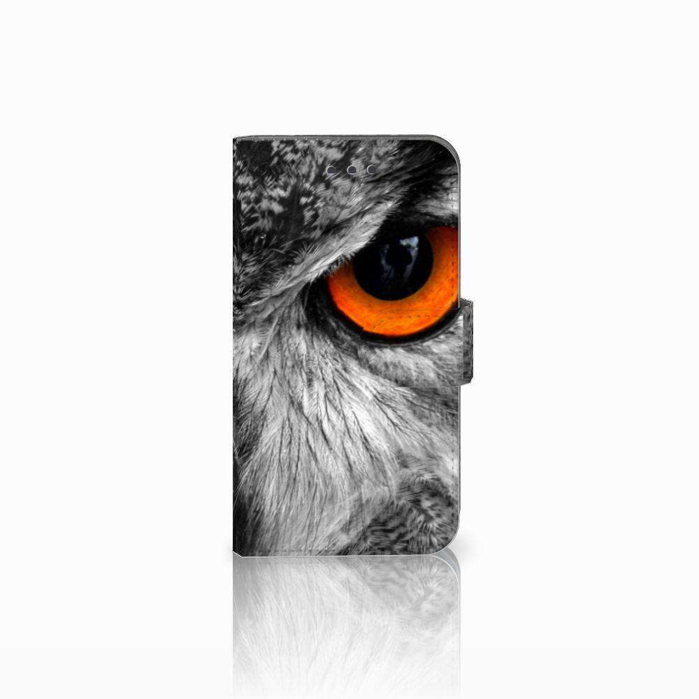 Samsung Galaxy Xcover 3 | Xcover 3 VE Telefoonhoesje met Pasjes Uil