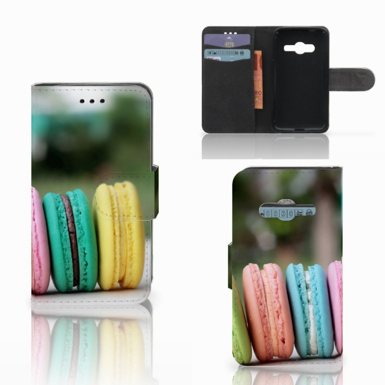 Samsung Galaxy Trend 2 Book Cover Macarons