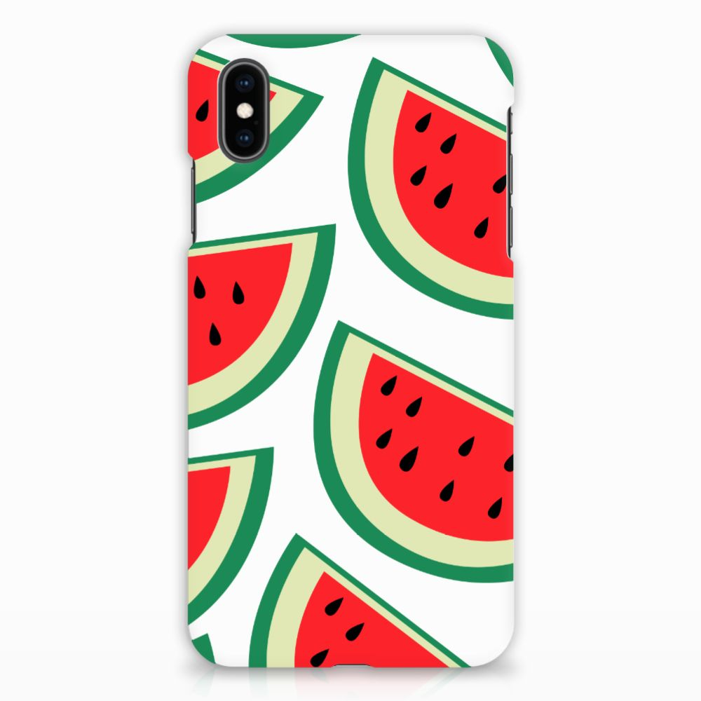 Apple iPhone Xs Max Hardcover Watermelons