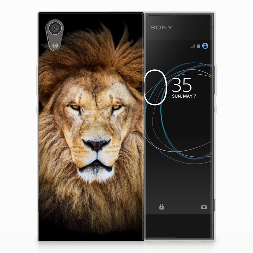 Sony Xperia XA1 TPU Hoesje Design Leeuw