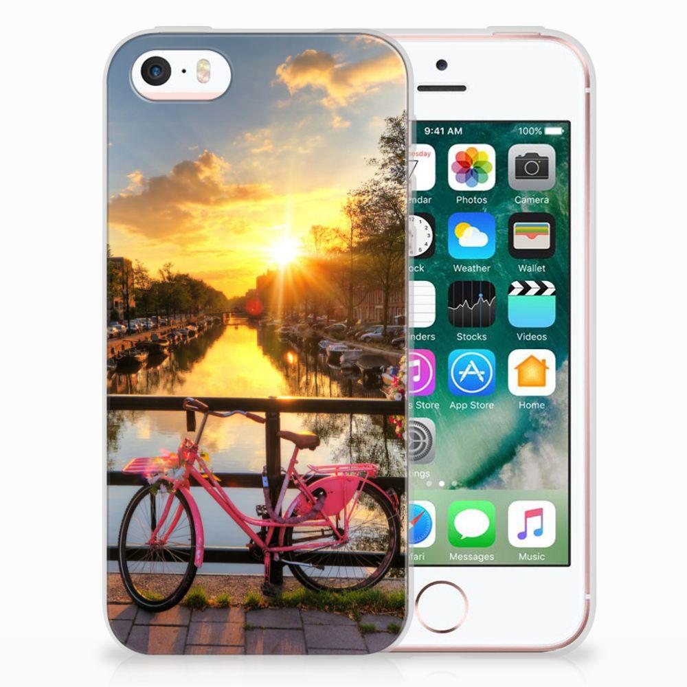 Apple iPhone SE | 5S Uniek TPU Hoesje Amsterdamse Grachten