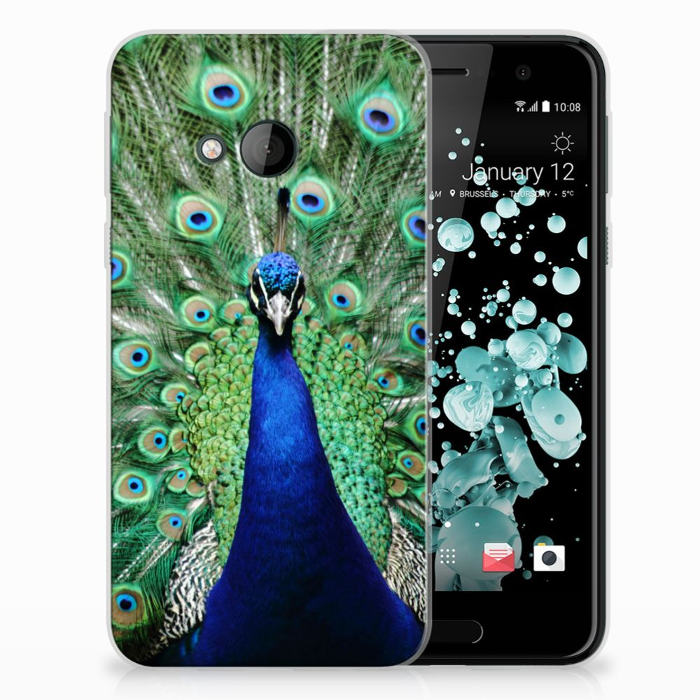 HTC U Play TPU Hoesje Design Pauw
