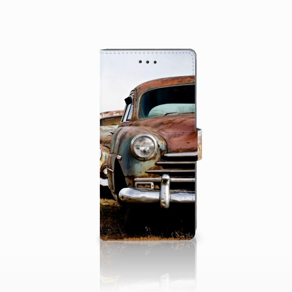 Samsung Galaxy Note 8 Uniek Boekhoesje Vintage Auto