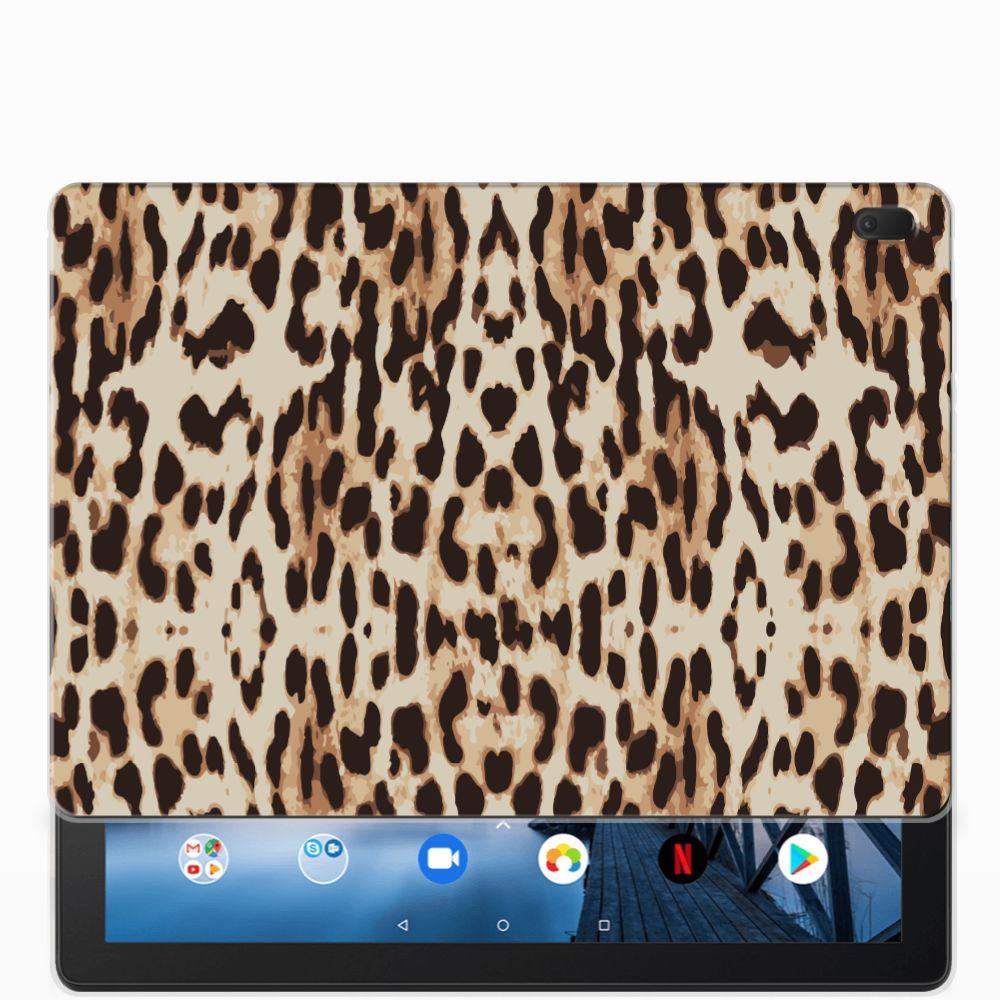 Lenovo Tab E10 Back Case Leopard