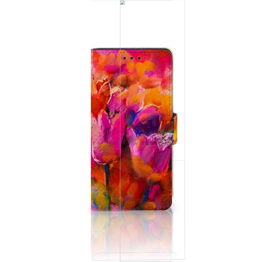 Huawei Ascend P8 Lite Boekhoesje Design Tulips