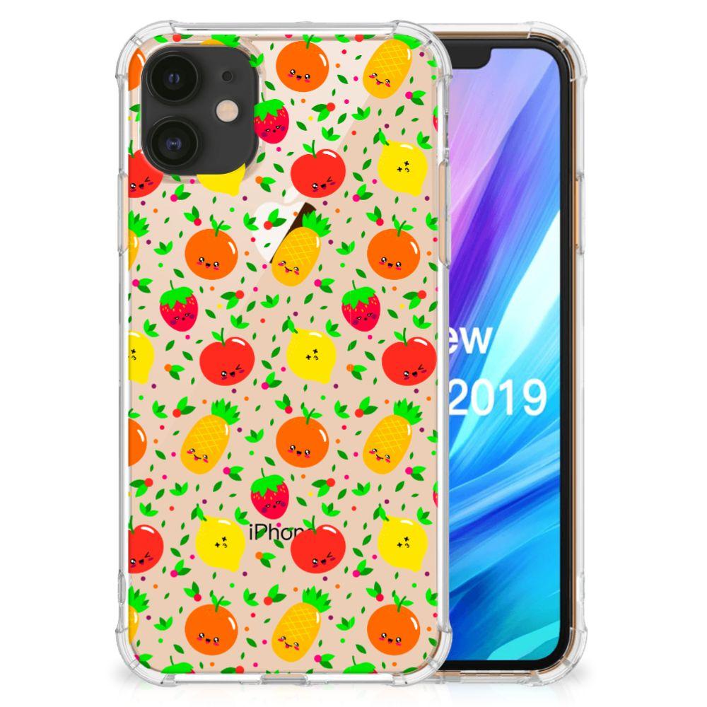 Apple iPhone 11 Beschermhoes Fruits