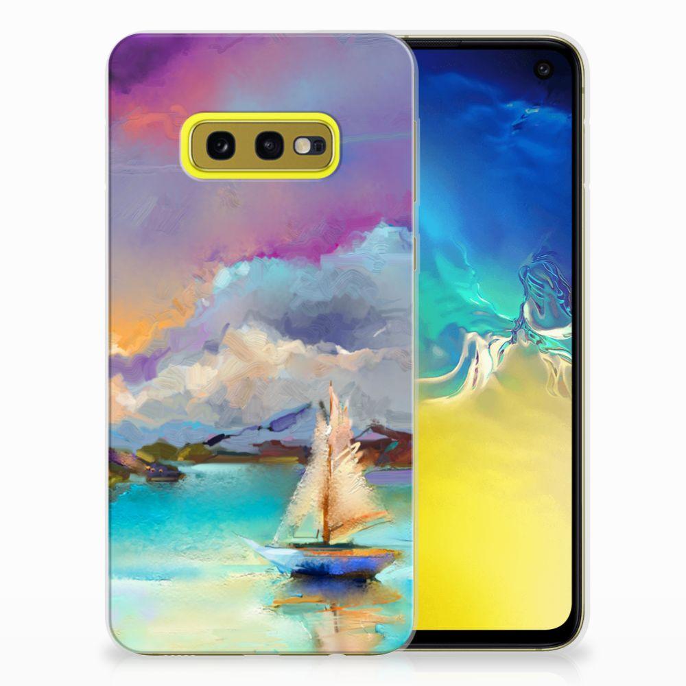 Hoesje maken Samsung Galaxy S10e Boat