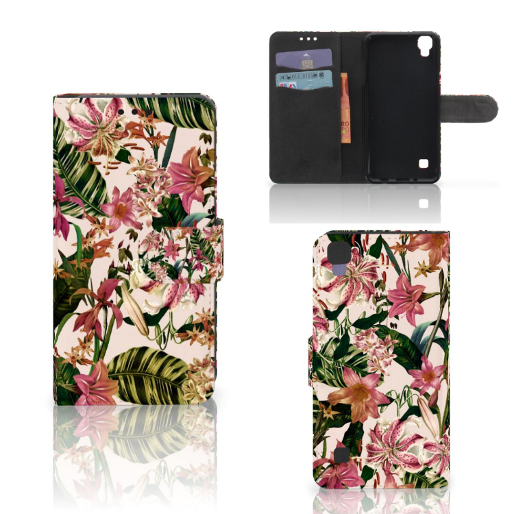 LG X Style Hoesje Flowers