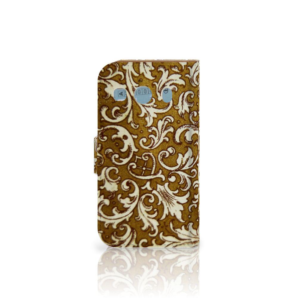Wallet Case Samsung Galaxy Ace 4 4G (G357-FZ) Barok Goud