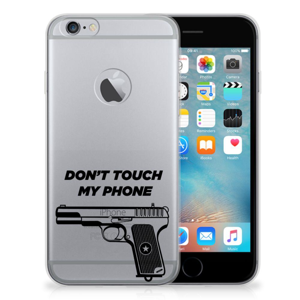Apple iPhone 6 Plus | 6s Plus Silicone-hoesje Pistol DTMP