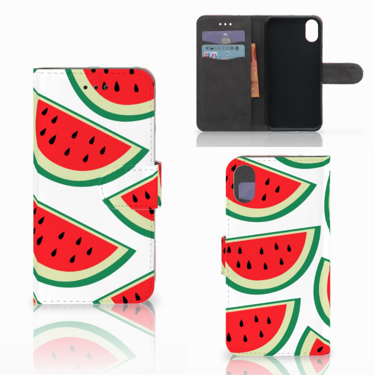 Apple iPhone X | Xs Book Cover Watermelons