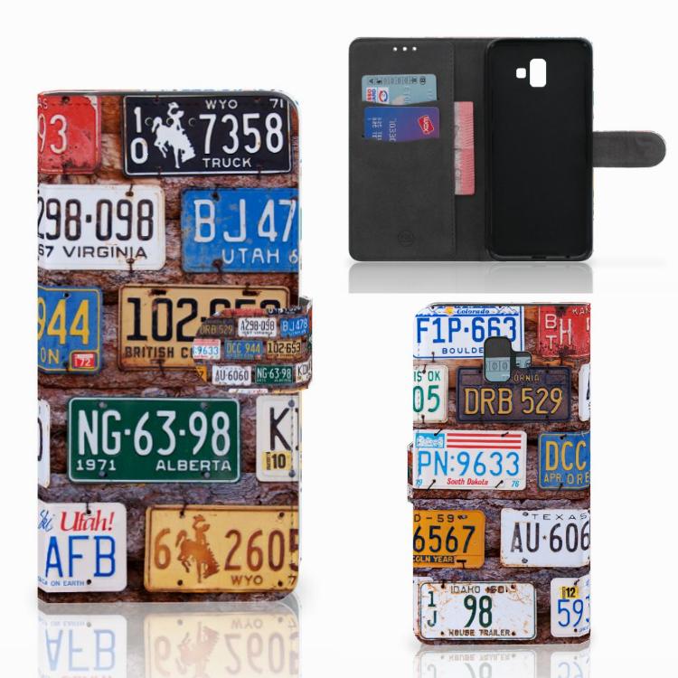 Samsung Galaxy J6 Plus (2018) Telefoonhoesje met foto Kentekenplaten