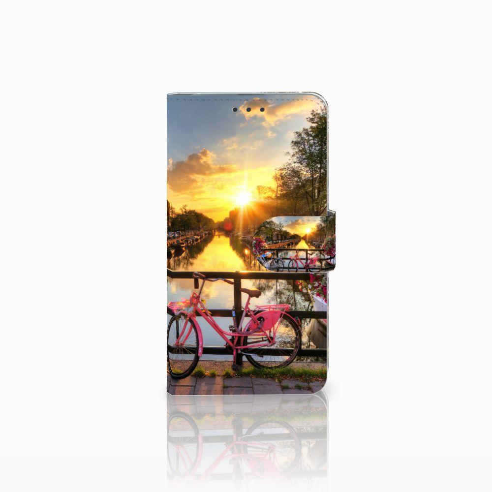 Microsoft Lumia 640 Uniek Boekhoesje Amsterdamse Grachten