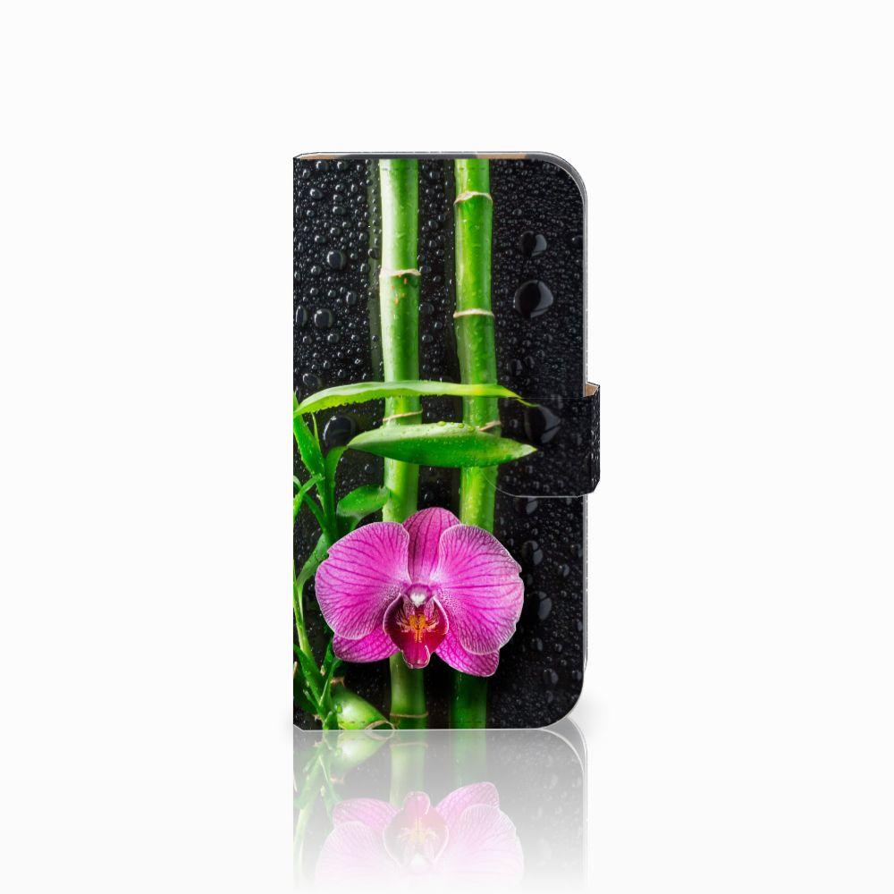 HTC One M8 Boekhoesje Design Orchidee