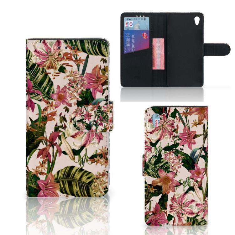 Sony Xperia Z3 Hoesje Flowers