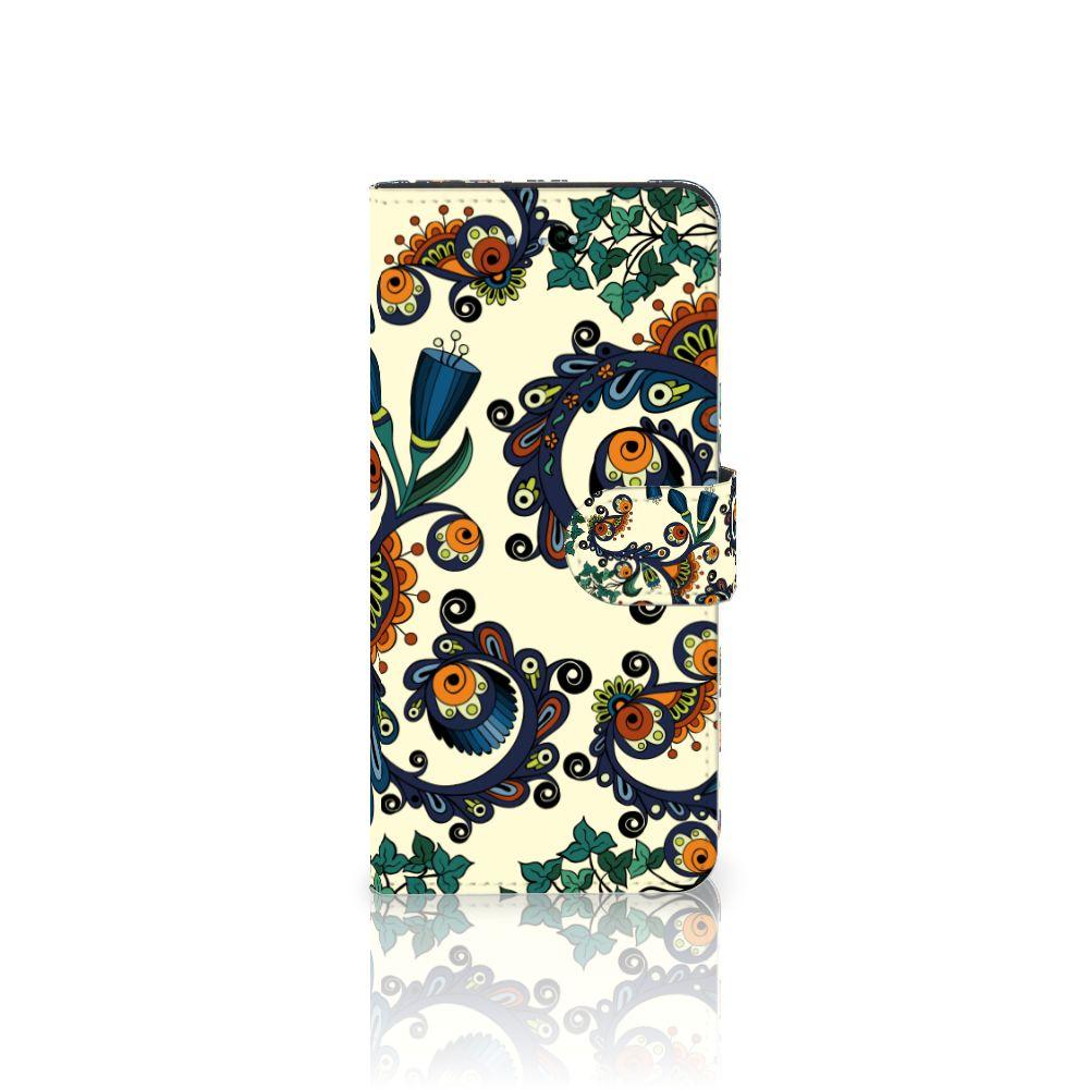 Apple iPhone 6 Plus | 6s Plus Boekhoesje Design Barok Flower