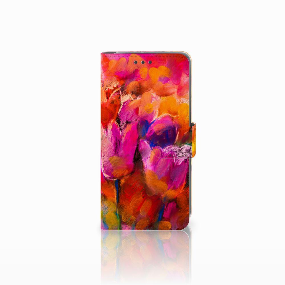 HTC U11 Life Boekhoesje Design Tulips