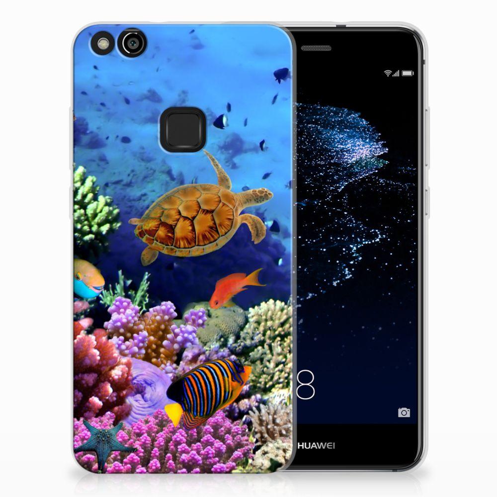 Huawei P10 Lite TPU Hoesje Design Vissen