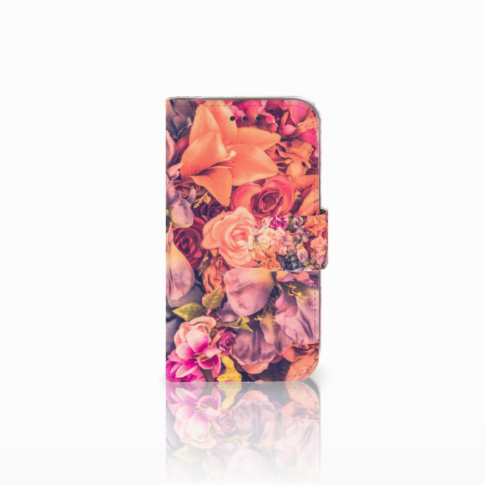 Samsung Galaxy Core Prime Boekhoesje Design Bosje Bloemen