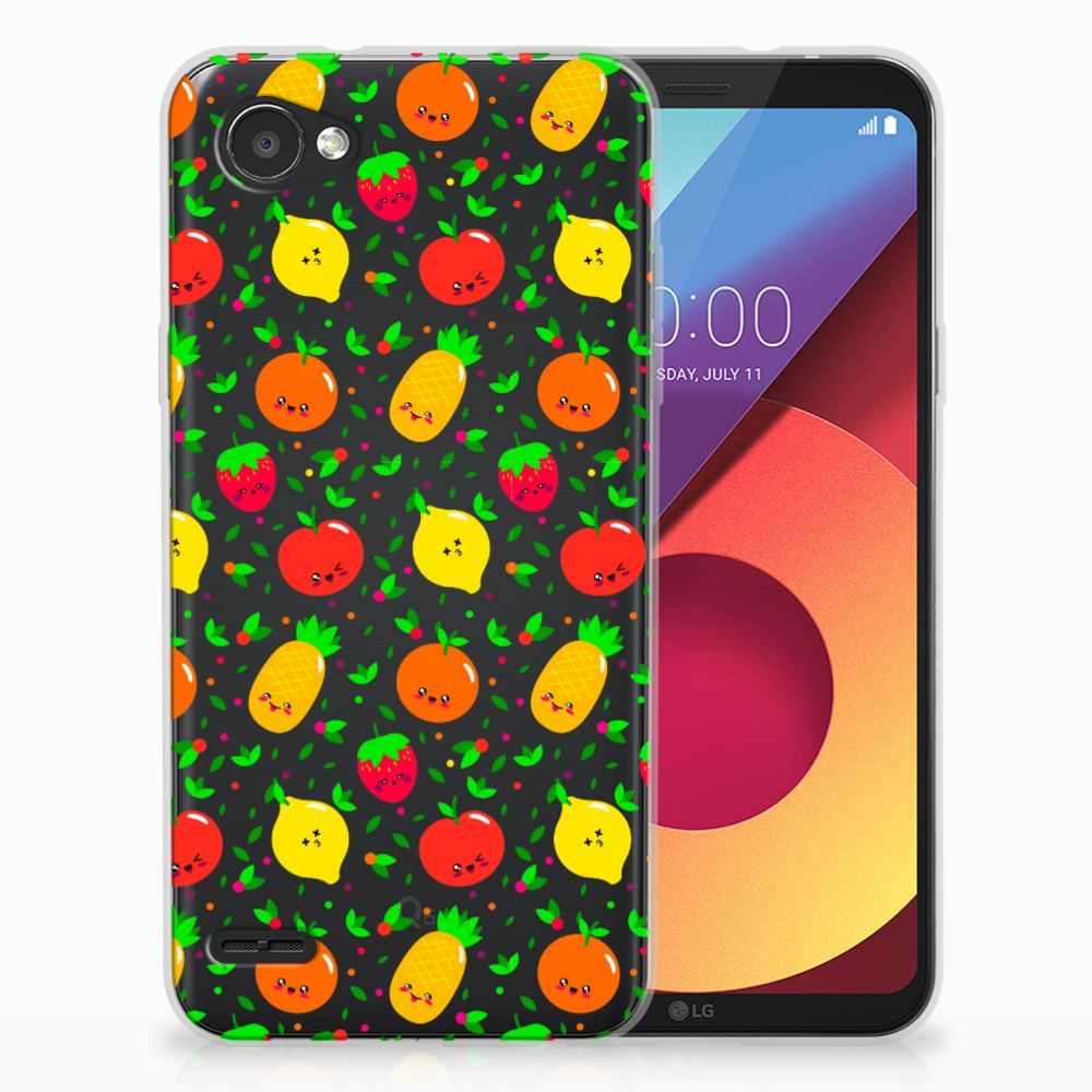 LG Q6 | LG Q6 Plus Siliconen Case Fruits