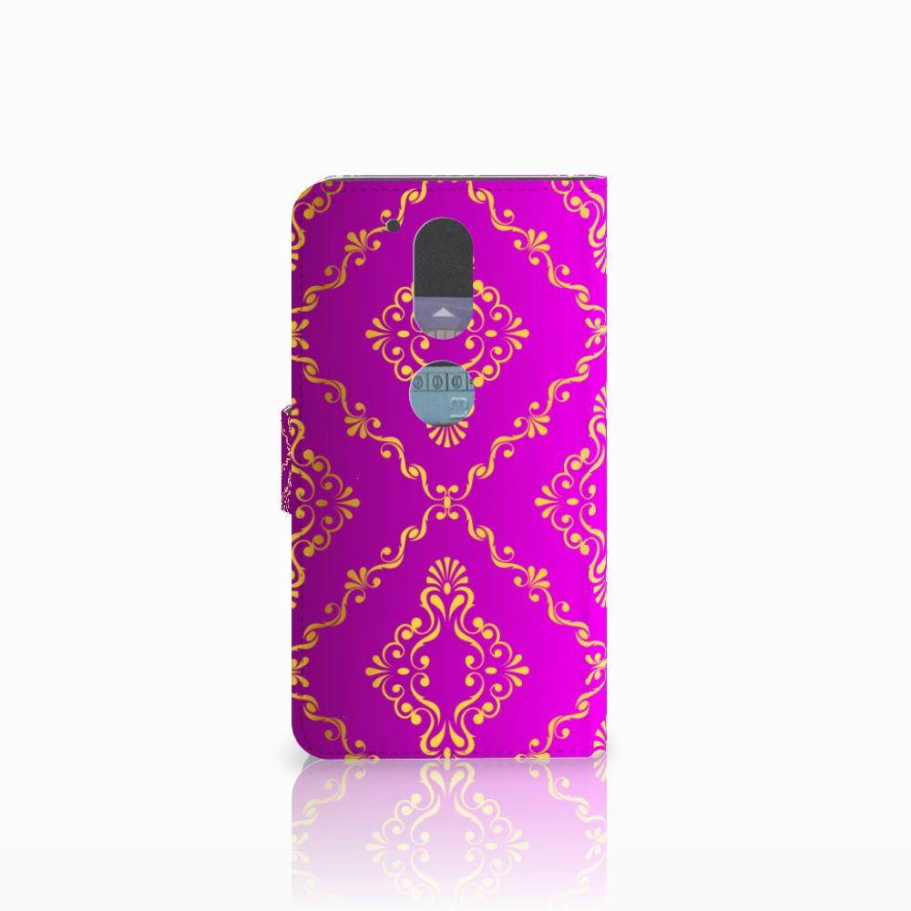 Wallet Case Motorola Moto G4 | G4 Plus Barok Roze